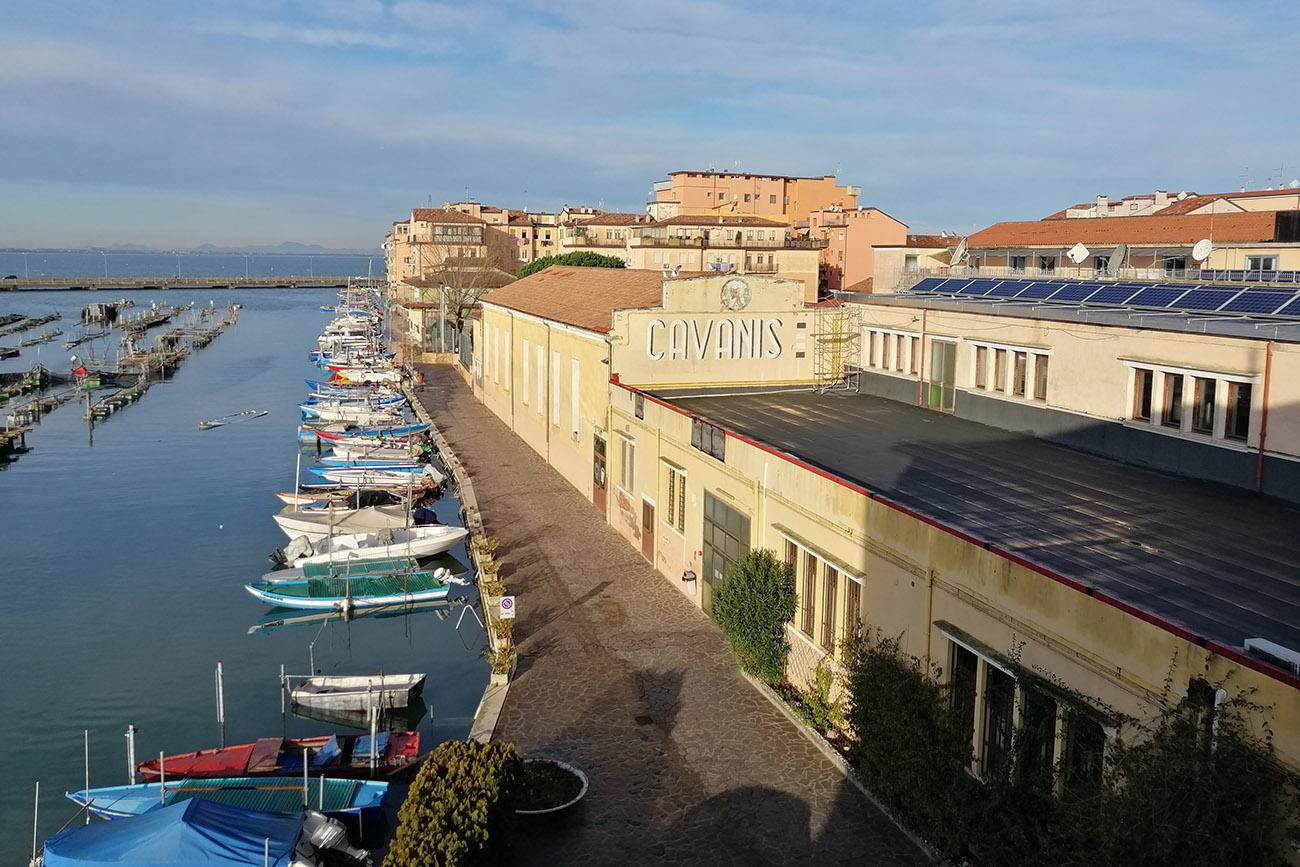 facciata Cavanis Chioggia
